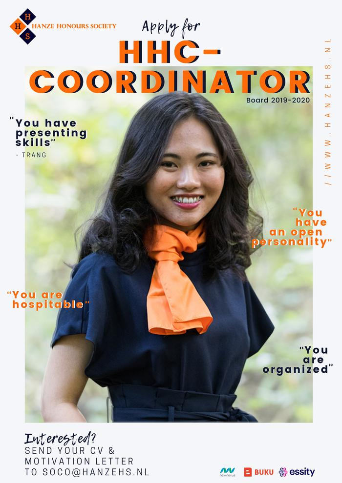 Are you our next HHC-coordinator?