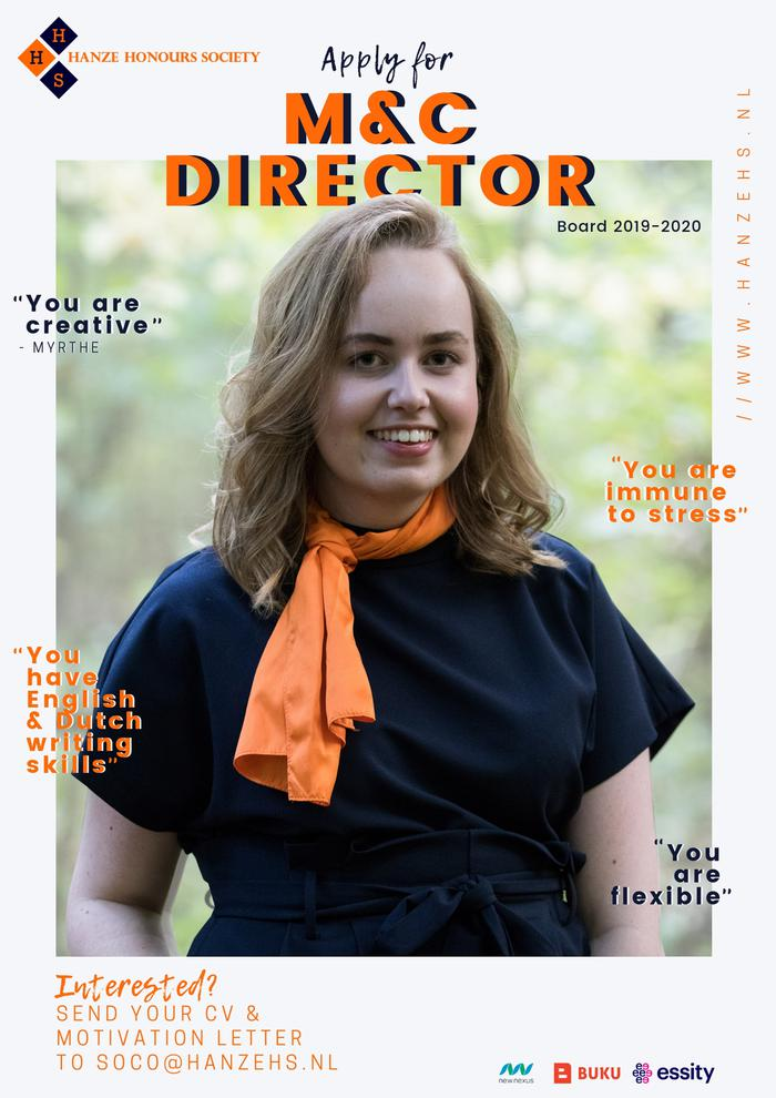 Are you our next M&C director?