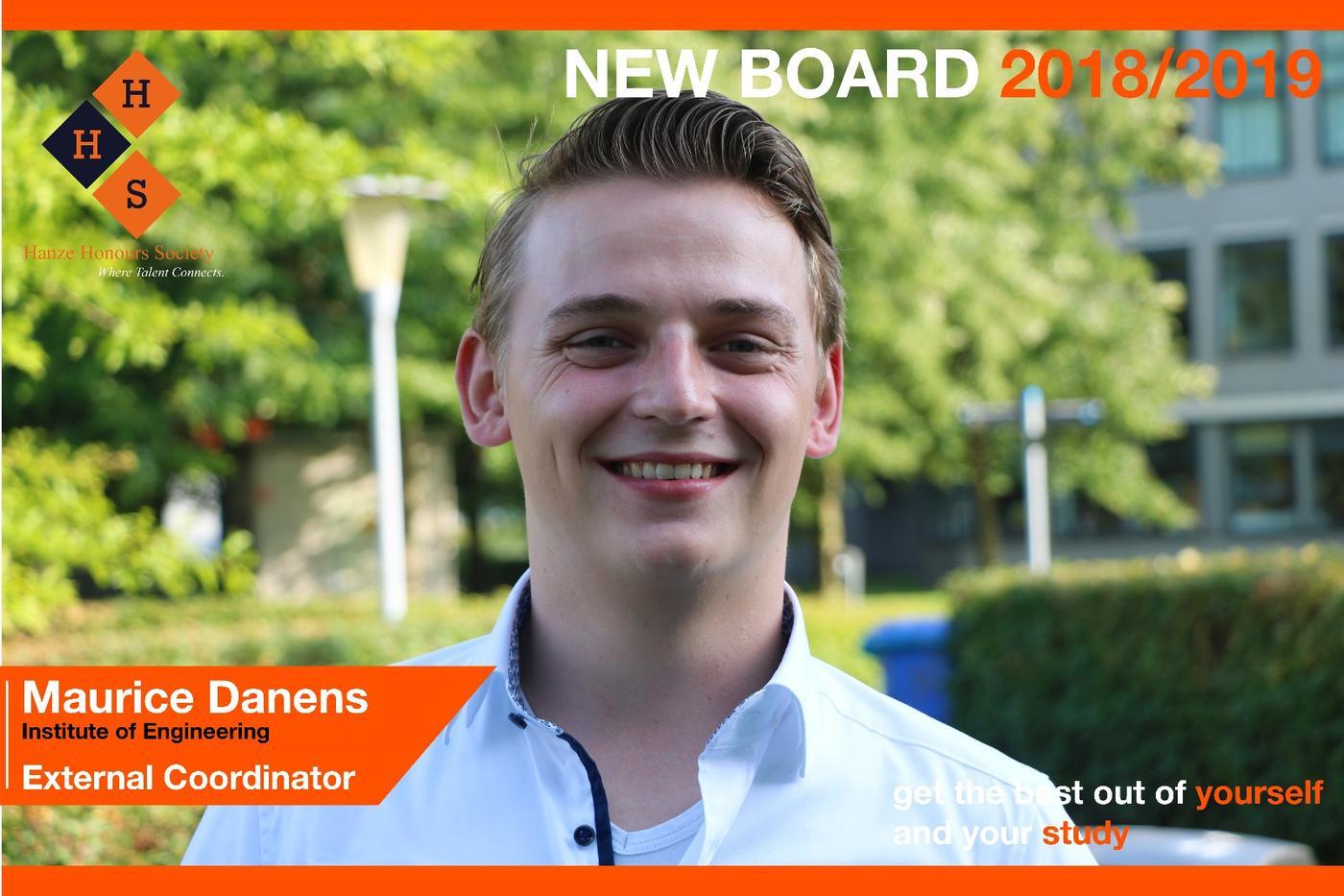 New Board - External coordinator