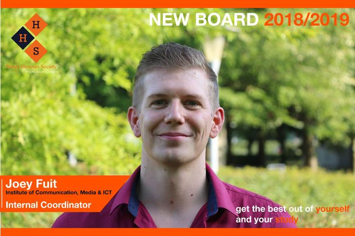 New Board - Internal coordinator