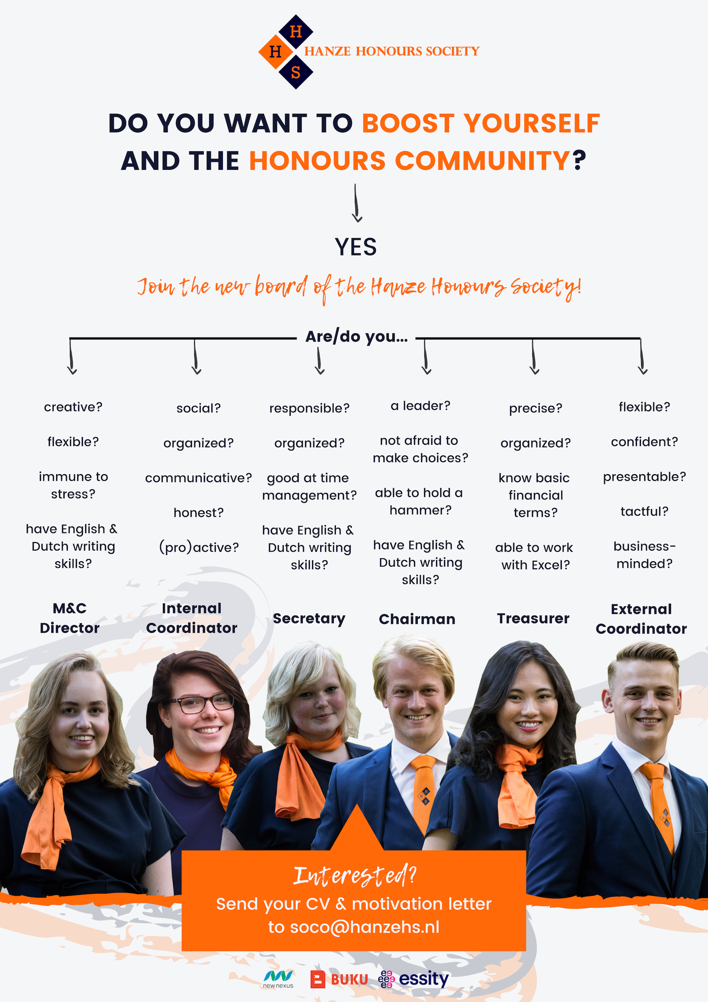 Apply for the board 2019-2020!
