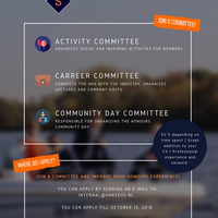 Join a committee!