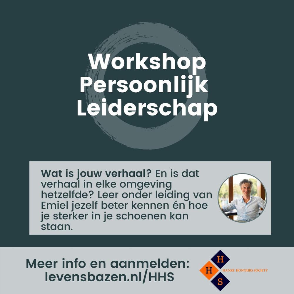 Workshop Persoonlijk Leidership