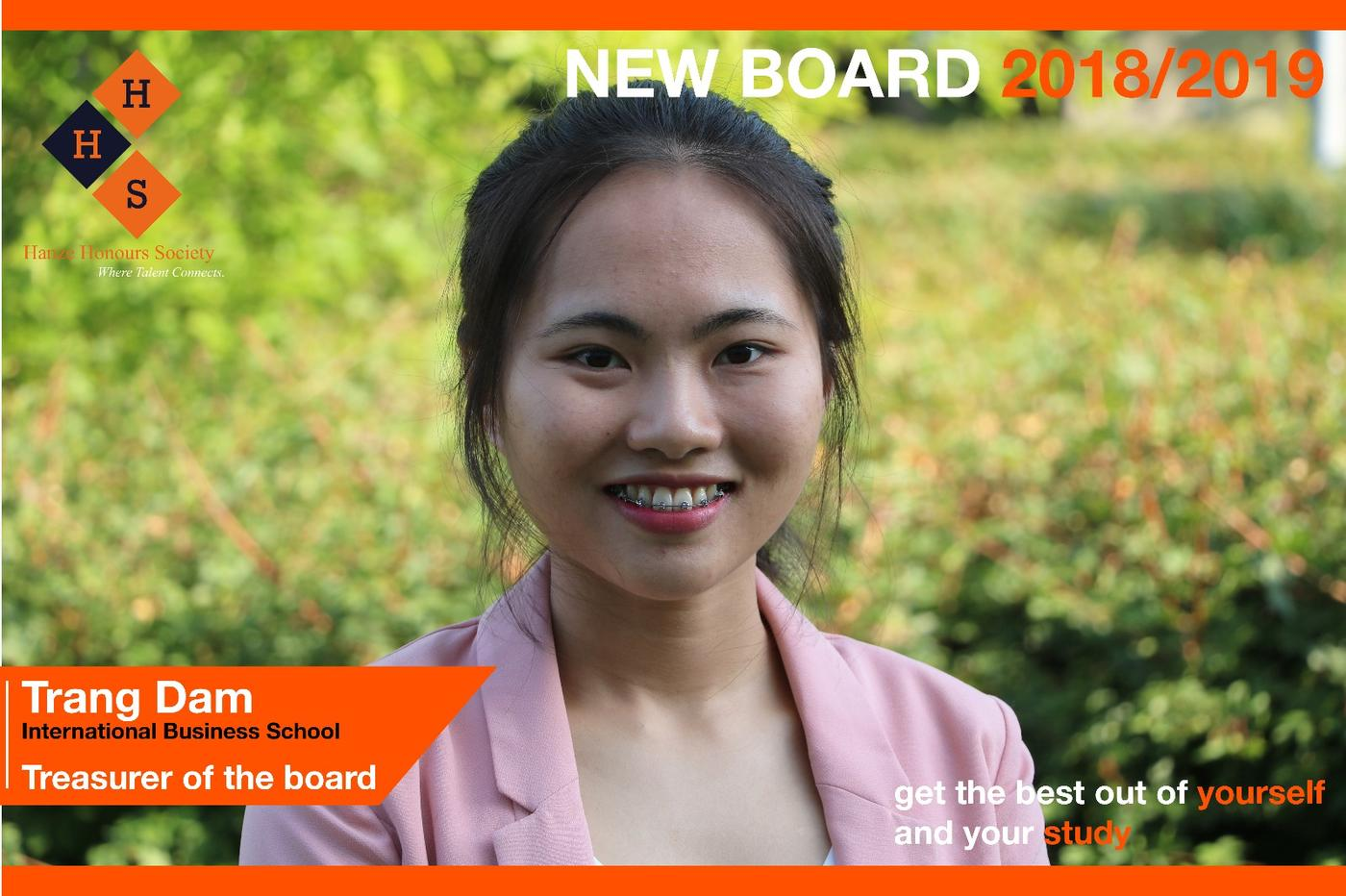 New Board - Treasurer