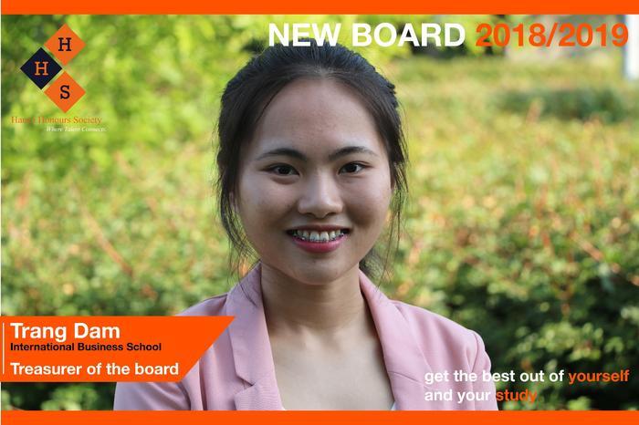 New Board - Treasurer